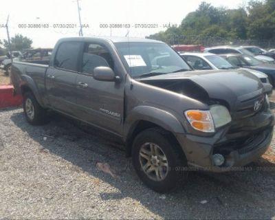 Salvage Gray 2004 Toyota Tundra