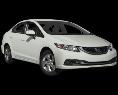 Pre-Owned 2015 Honda Civic LX FWD 4D Sedan