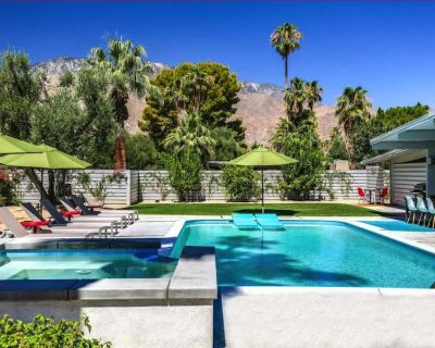Mid-Century house with sweeping views in Central Palm Springs! - Sunmor