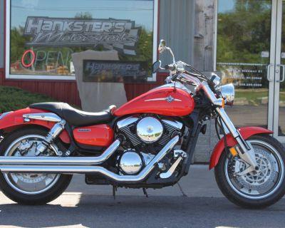 2005 Kawasaki Vulcan 1600 Mean Streak Cruiser Janesville, WI