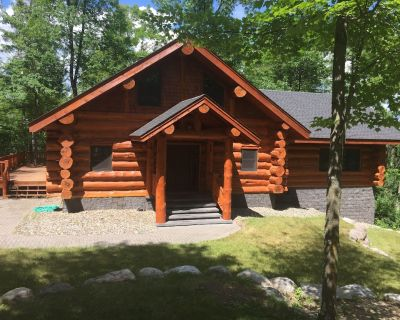 PRIVATE LOG CABIN LAKE RETREAT 2 Miles from Itasca State Park - Park Rapids