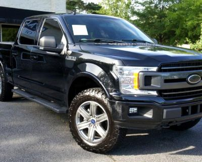 Pre-Owned 2018 Ford F-150 XLT SuperCrew 5.5-ft. Bed 4WD 4WD Truck