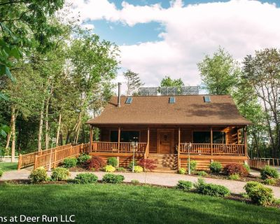 Spotted Fawn Cabin - Serenity and Luxury Await You - Shenandoah