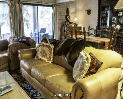 Creekside Condo w/ Lovely Gore Creek View & Wood Stove - Steps to Shuttle! - West Vail