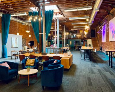 Open, Comfortable, Stylish Event Space in Soma, San Francisco, CA