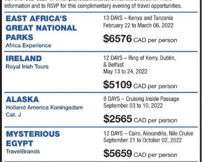 SMALL GROUP ESCORTED TOURS 202...