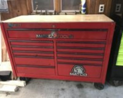 MAC, MATCO, Blue Point Tool Boxes and Rolling Carts