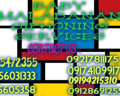 MG malabanan siphoning services 5472355 / 09217811175