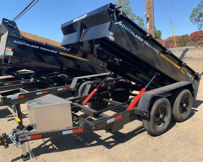 2021 SOUTHLAND TRAILER CORP SL510-10K DUMP Dump Trailers Acampo, CA
