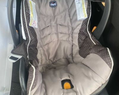 Infant car seat and with two bases for sale