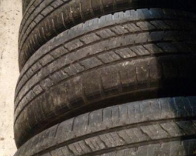 Hankook dynapro set of tires 265-70-17 highway tread