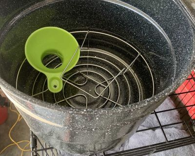 Canner with jar rack $8
