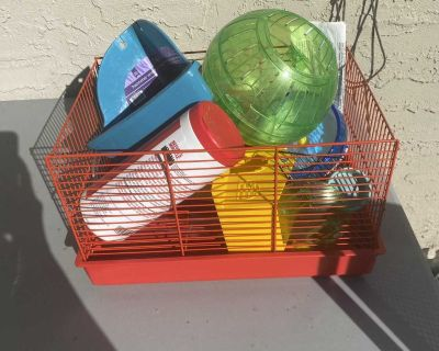 Lot of Hamster Items
