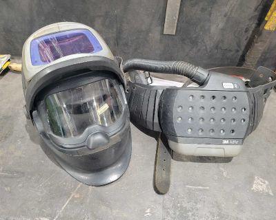 PAPR welding helmet