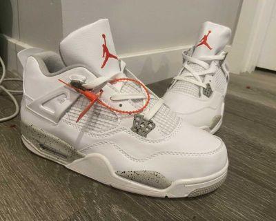 Jordan 4 s Oreo white