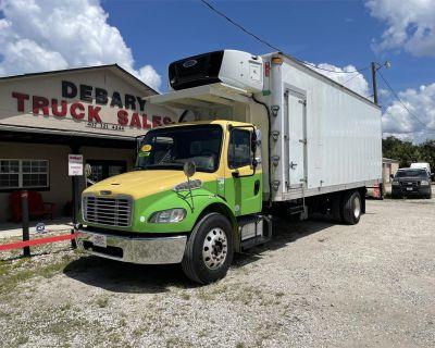 2015 FREIGHTLINER BUSINESS CLASS M2 106 Reefer, Refrigerated Trucks Medium Duty