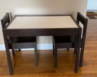 Activity Table & 2 Chairs