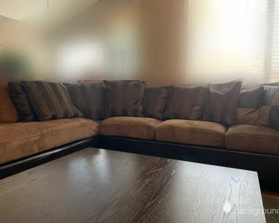 Sectional sofa from the Brick
