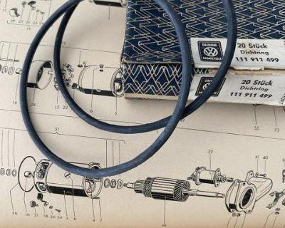 NOS Starter O-Ring Cap Gasket 111 911 499