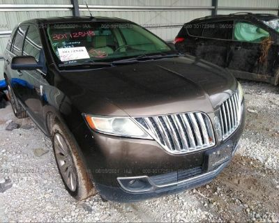 Salvage Brown 2011 Lincoln Mkx