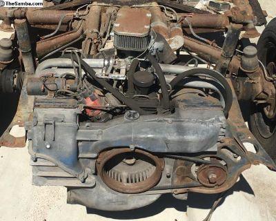 Porsche 914 1.7 Type 4 Engine & Exhaust