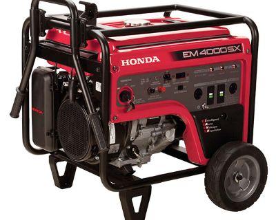 Honda Power Equipment EM4000S Generators Berkeley Springs, WV