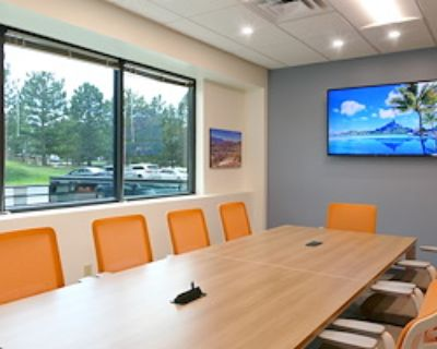 Private Meeting Room for 10 at Office Evolution Colorado Springs