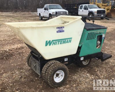 2013 Multiquip WBH-16EF Walk-Behind Concrete Buggy