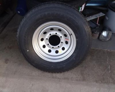 NEW Trailer Tires & Rims 10 12 14 Ply