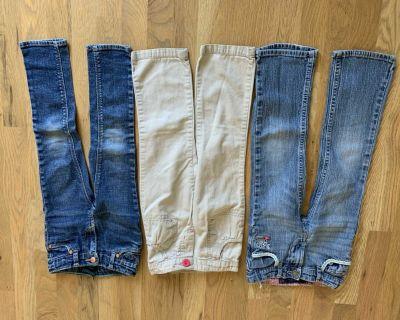 4T girls jeans/pants
