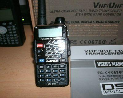 Portable Scanner Radio