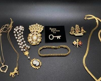 Collectibles & Estate Fine & Costume Jewelry -- Online Auction #171 -- Yellow Dog Estate Sales