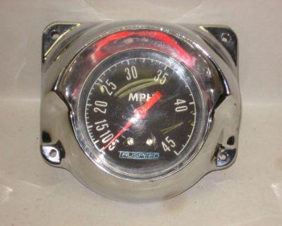 Vintage Boat Truspeed Speedometer Discover Tlc Web