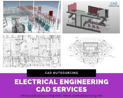 Electrical Designing and Electrical Diagram services - Dallas - CAD Outsourcing