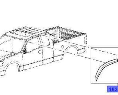 2005 2006 2007 2008 Ford F150 Super Cab Ventvisors Vent Shade Air Deflectors Oem