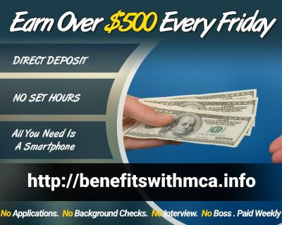 Earn $1000 a week Working From Home!!