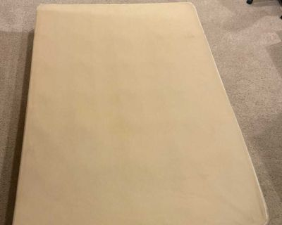Full box spring - only used 3 years and then the corner got damaged in a move.