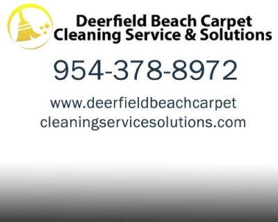 Deerfield Beach Carpet Cleaning Services