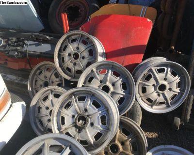 914 Pedrini set of wheels alloy rims 15 by 5.5