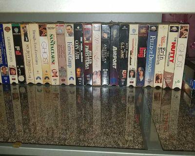 Meny VCR tapes
