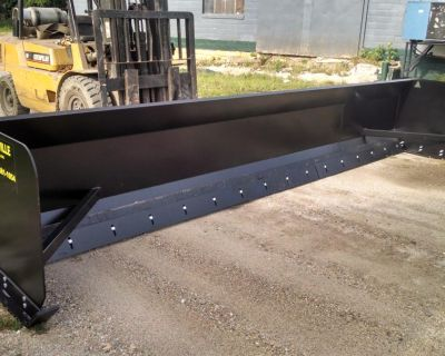 Linville Snow Pusher Plow LIFETIME WARRANTY
