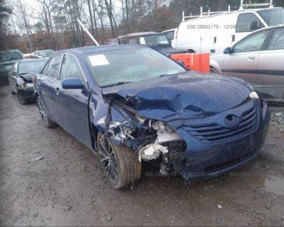Salvage Blue 2008 Toyota Camry
