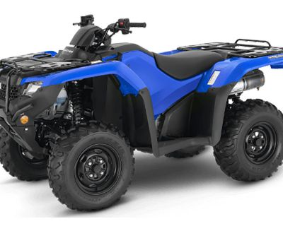 2021 Honda FourTrax Rancher 4x4 Automatic DCT IRS EPS ATV Utility Chico, CA