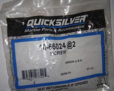 10-66024, 1066024, 66024 Mercury Quicksilver Screw Assy (2 Pack) New