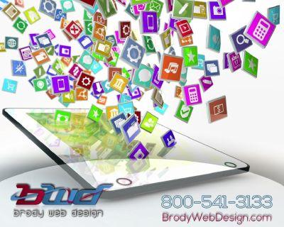 Logo Design, Web Design, Mobile App Development and Marketing