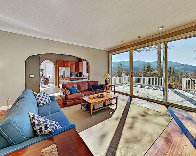 Private Mountain-View Retreat | Luxe Interior | Creek & Wraparound Deck - Hendersonville