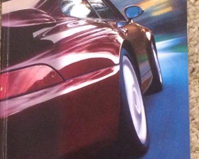 Porsche 1995 911 Carrera Factory Brochure XLNT