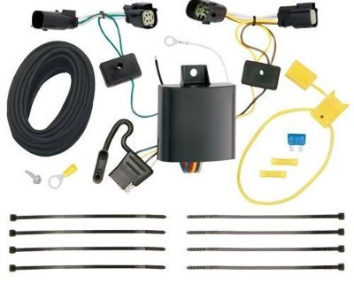 Draw-tite Trailer Hitch Wiring Tow Harness For Ford Transit-350 2015 2016