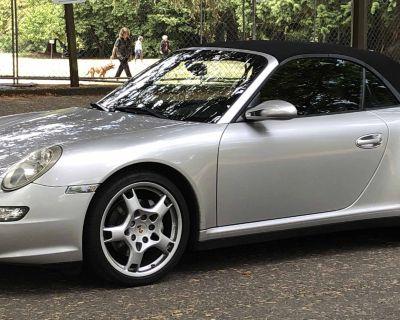 2006 997 C4 Cabriolet - Silver/Black Full Leather - Manual Trans! New Clutch/Flywheel