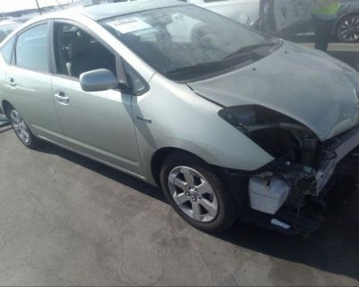 Salvage Green 2008 Toyota Prius